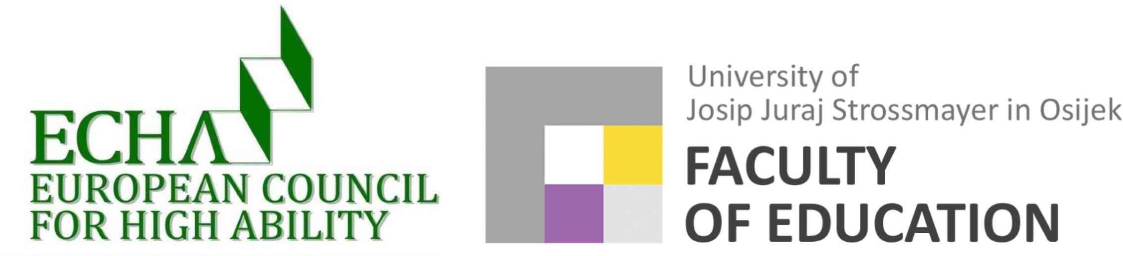ECHA - EUROPEAN COUNCIL FOR HIGH ABILITY, DUBROVNIK October 16-18, 2019
